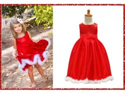 Dress G 4  X'MAS F Kids - GD1563