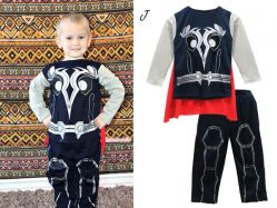 Pajama Marvel Costume J Kids - PJ1628