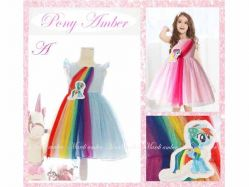 Dress Ponny Amber A Kids - GD1686 / S