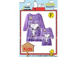 Dress Pajama GW 156 F Kids - PJ1812 / S