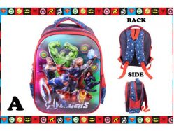 School Bag 3 A - PL1368