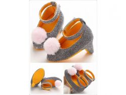 Shoes Prewalker PWS 1 I Heels Grey - PL2054