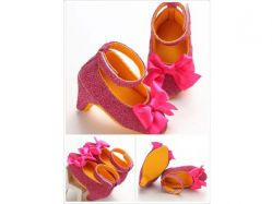 Shoes Prewalker PWS 1 J Heels Purple - PL2055