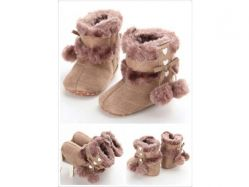 Shoes Prewalker PWS 2 C Boots Brown Pom - PL2060