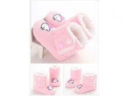 Shoes Prewalker PWS 2 H Boots Pink Hello Kitty - PL2063