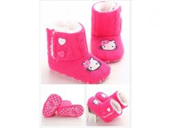 Shoes Prewalker PWS 2 J Boots Fuschia Hello Kitty - PL2064