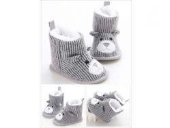 Shoes Prewalker PWS 2 L Boots Grey Bear - PL2066
