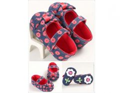 Shoes Prewalker PWS 3 J Red Flower - PL2073