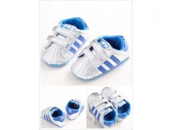 Shoes Prewalker PWS 3 Q Adidas Blue - PL2077