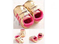Shoes Prewalker PWS 3 R Adidas Pink Gold - PL2078
