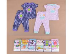 Carter's Blue Fly November G Girl 5 In 1 Set Piyama Atas Pendek Bawah Panjang - BY747