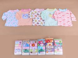 Carter's Blue Fly November I Girl 5 In 1 T-shirt Tangan Panjang Kancing Pundak - BY751