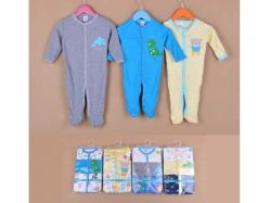 Carter's Blue Fly November J Boy Romper Tangan Panjang - BY752