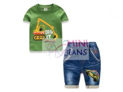 Fashion Boy Mini Jeans 144 D - BS4274