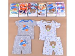 Set Piyama Pendek Boy - BY803
