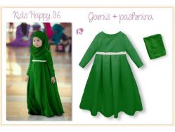 Dress Gamis KH 36 B Teen - GD3237