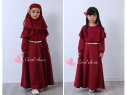 Dress Gamis TH I Teen - GD3281