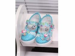 1704 Shoes Blue Small - PL2504