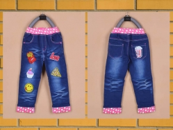 Girl Jeans Pant Love GDN - CG479