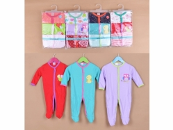 Carter's Blue Fly Romper Tangan Panjang J Girl - BY951