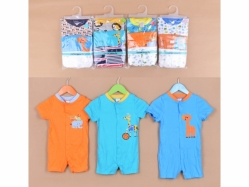 Carter's Blue Fly Romper Tangan Pendek K Boy - BY952