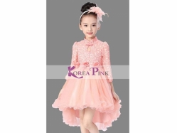 Fashion Dress Korea Pink 21 M - GD3578