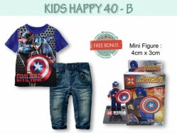 Fashion Boy Set KH 40 B Kids - BS4947