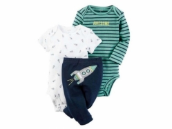 Baby Romper + Pant SE A - BY1003