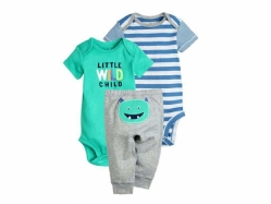 Baby Romper + Pant SE F - BY1007