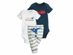 Baby Romper + Pant SE G - BY1008