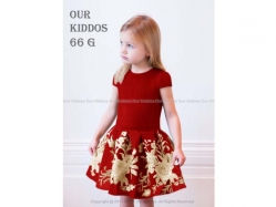 Girl Dress OK 66 G Kids - GD3829