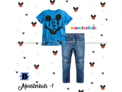 Fashion Boy Monster Kids 1 B - BS5269