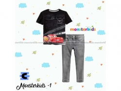 Fashion Boy Monster Kids 1 C - BS5270