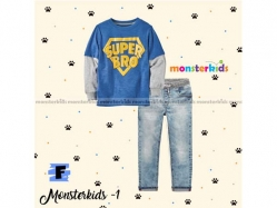 Fashion Boy Monster Kids 1 F - BS5272