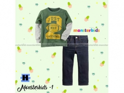 Fashion Boy Monster Kids 1 H - BS5274