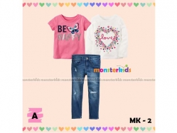 Fashion Girl Monster Kids 2 A - GS4743