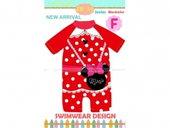 Swimsuit JW 49 F Kids - PL3380