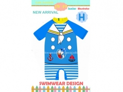 Swimsuit JW 49 H Kids - PL3383