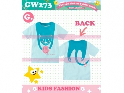 T-Shirt Girl GW 273 G Kids - GA1216