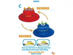 Cute Reversible Hat GW 281 C - PL3543