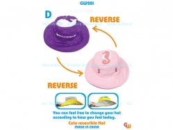 Cute Reversible Hat GW 281 D - PL3544