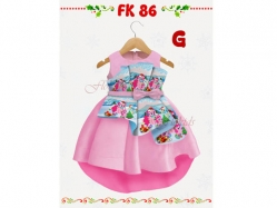Girl Dress FK 86 G Kids - GD4586