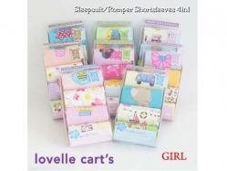 Girl Romper 4 in 1 Lovelle Cart's - BY1312