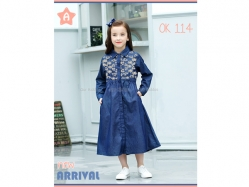 Dress Muslim OK 114 A Kids - GD4787