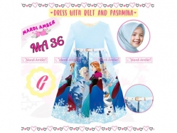 Dress Gamis MA 36 G Kids - GD4797
