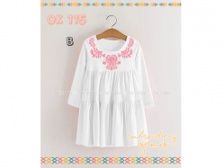Dress Gamis OK 115 B Kids - GD4809