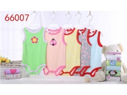 Bodysuit Tanpa Lengan 5 in 1 Carter's Blue Fly - BY1374