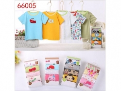Tshirt Pendek 5 in 1 Carter's Blue Fly - BY1375