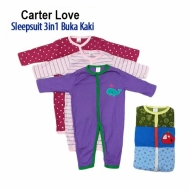 Sleepsuit Bayi Buka Kaki Carterlove - BY1397