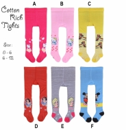 Legging Baby Cotton Rich Tights Girl - PL4338